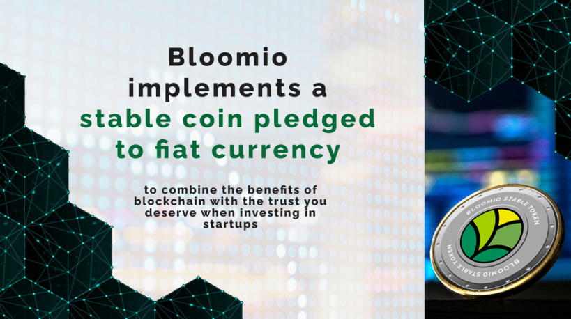 Bloomio issued today its first coin (BC EUR) tied to Euro