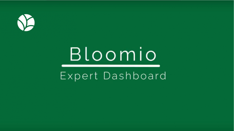 Bloomio released further functionalities for Expert due diligence