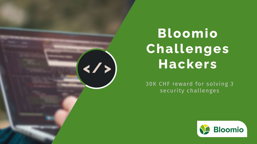 Bloomio challenges hackers. Reward-based security challenge. (Update)